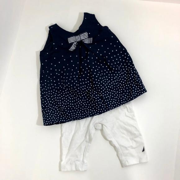 d095d4e5e8e7b Nautica Matching Sets | Girls 2piece Starburst Tunic Top Legging Set ...